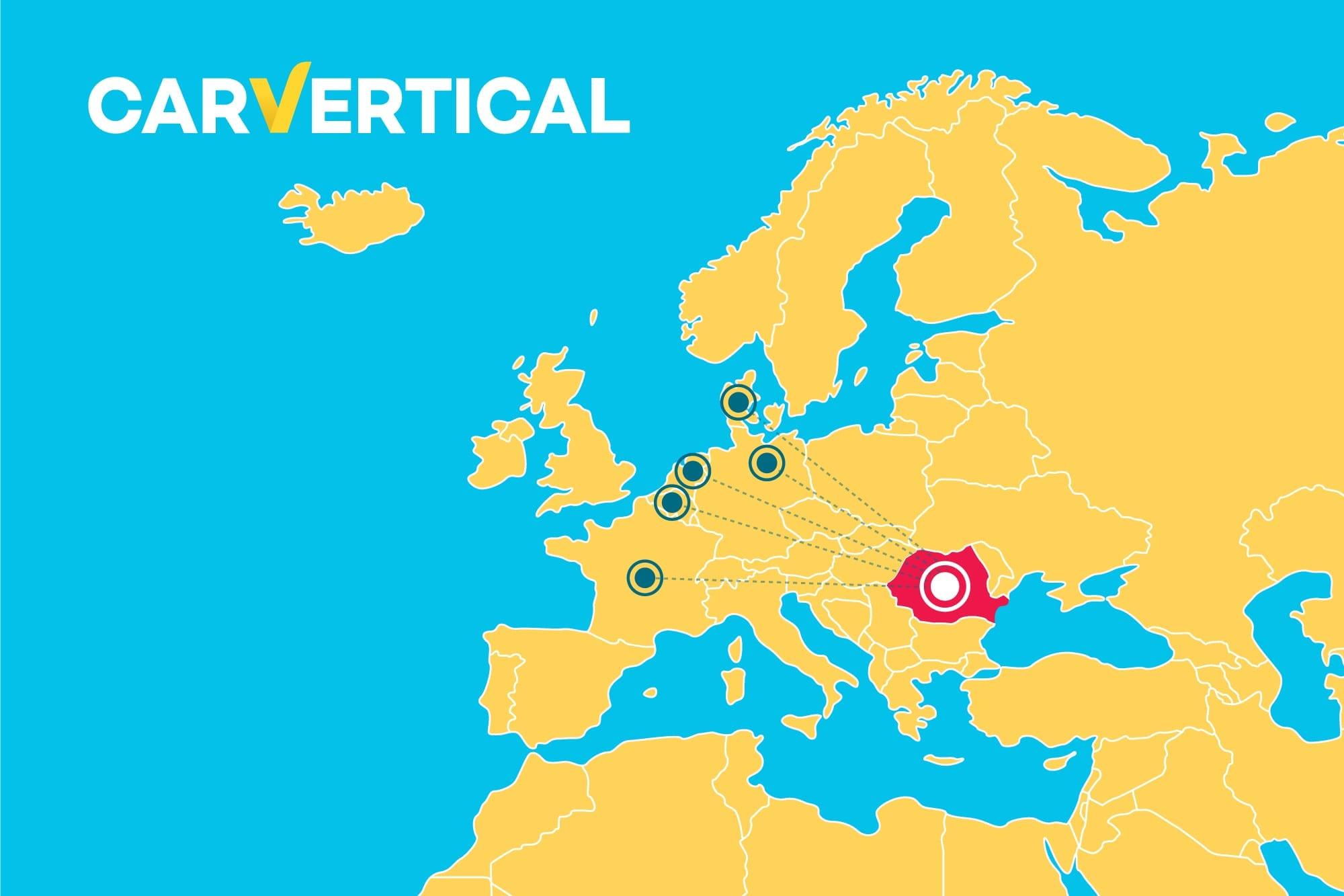 Concluzii Verificare Vin prin carVertical: Kilometrajul dat înapoi în medie cu 59.000 de km